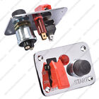 Motorsport Ignition Switch Panel / Push Button Start 25A 12V Track Car Boat