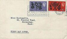 1965 Arts Festival FDC – Commonwealth Arts Festival slogan Bromley & Beckenham