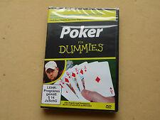 Dokumentation Doku Poker für Dummies Pokern DVD Neu OVP