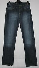 Nuevo M&S Limited Collection pierna recta Jeans 10/12 L aspecto desgastado