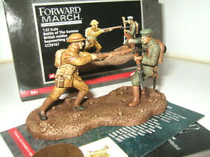 Corgi CC59167 Battle of the Somme,Brit Soldier Bayonettes German in 1:32 Scale