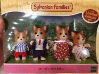 Sylvanian Families 35th Anniversary KORGI FAMILY Limited Edition Calico Critters