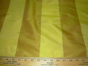 """10 YDS FABRICUT~FAUX SILK """"EMBROIDERED STRIPES"""" ~UPHOLSTERY FABRIC FOR LESS~"""