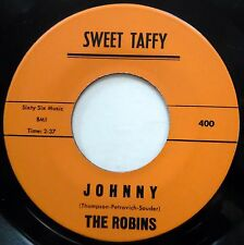 THE ROBINS 45 Johnny / Doing The Popeye VG++ Doo Wop ORIGINAL e7955