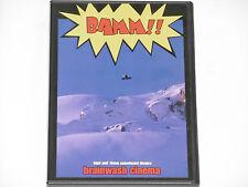 Bamm!! - High End 16mm Snowboard Theatre - Brainwash Cinema DVD