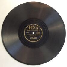 """A Little Bird Told Me Brush Those Tears From Eyes 78RPM 10"""" Record Evelyn Knight"""