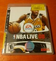 NBA Live 08 Sony PlayStation 3 PS3 EA Sports