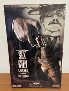Doc Holiday Six Gun Legends sideshow collectibles 12 Inch Action Figure