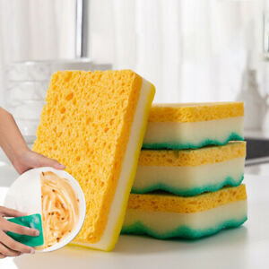 Sponge Layers Magic Wipe Kitchen Wash Pot Washing Remover Stain Scuffs Cleaning
