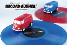 Stokyo RECORD RUNNER Volkswagen Type2 cherry Red Portable Record Player