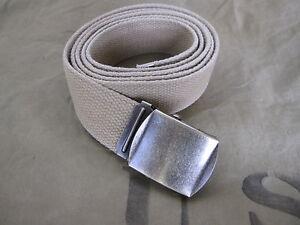 US Army Trouser Belt Officers Khaki Fieldtrouser Chino M37 M43 Hbt WWII Wkii