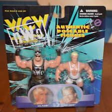 RARE 1 OF A KIND ERROR PACKAGE WRONG CARD WCW NWO FLAIR HULK LUGER STIENER