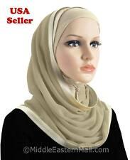 Kuwaiti Mona Hijab Muslim one piece pullover Islamic Head Scarf Mona Hijab Hat