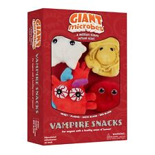 Giant Microbes Themed Gift Box Set Vampire Snacks Plush Giantmicrobes