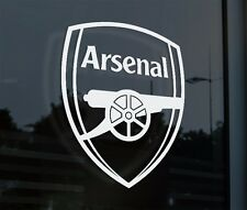 Arsenal Decal Sticker Car Window Emblem Calcamonia Premier League EPL Gunners