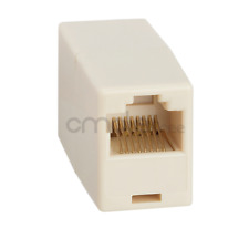 Cat5e RJ45 Inline Ethernet Network Patch Cable Coupler, 8P8C Crossover