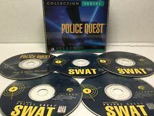 POLICE QUEST Collection SWAT & Most Wanted (Sierra PC cd-rom) 5 discs complete