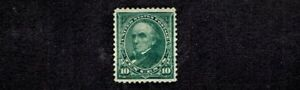 1895 Bureau D.L. Wkm 10c Dk Green Webster Sc#273  M/VLH/OG*