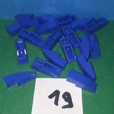 légo bleu ref 4 lot de 19 pcs