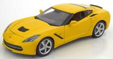 1:18 Maisto Chevrolet Corvette Stingray Coupe 2014 yellow