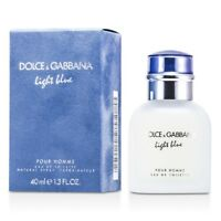 Dolce & Gabbana Light Blue Eau De Toilette Spray 38ml Mens Cologne