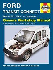 Haynes Ford Transit Connect 1.8 TDDi & TDCi Diesel 2002-11 Manual 4903 NEW