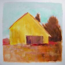 ORIGINAL Farm Landscape Painting  JMW art  John Williams Modern Barn scene