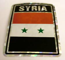 """3x4"" Syria Stickers / Syria Flag / Decal"