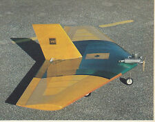 Stingray Delta 40 Sport Plane Plans,Templates and Instructions 56ws