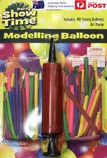 40pcs Modelling Balloon Air Pump Party Kids Animal Twist Tying Creative Wedding
