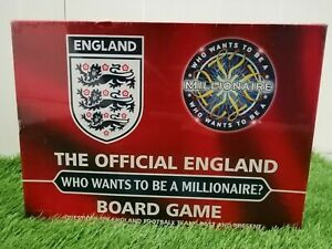 The Offical England Who Wants To Be A Millionaire Board Game Brand New Sealed