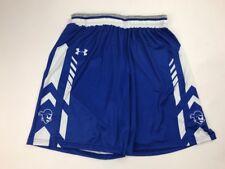 Under Armour Women's Medium Seton Hall Pirates Armourfuse Basketball Shorts Blue
