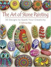 ADULT COLORING BOOK ~ THE ART OF STONE PAINTING ~ PERFORATED PAGES FOR FRAMING!