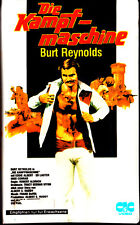 "VHS - FSK 18 - "" Die KAMPFMASCHINE ( The Longest Yard ) "" (1974) - Burt Reynolds"