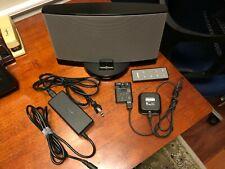 BOSE SoundDock Series 3  W/ Apple Lightning Dock & Bose Bluetooth Audio Adapter