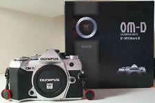 Olympus E-M5 Mark III 20.4MP Mirrorless Camera - Silver