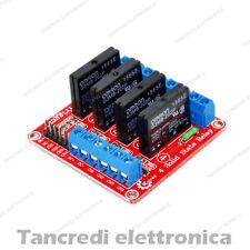 Modulo Relè SSR 4 Canale Relay Stato Solido 5V 2A Rele per Arduino Omron scheda