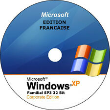 ✅ Windows XP SP3 Familial 32 bits français (Restauration, réinstallation). ✅