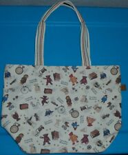 AWESOME! TEDDY BEAR MUSEUM purse bag tote EUC! BARELY USED!