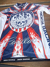 Original Rock Racing USA Champion dans White Blue Red Taille S TOP RAR!!!