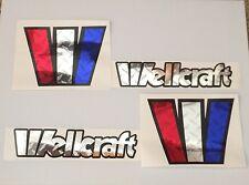 2 Wellcraft  Diamond plate custom 6 x 8  W  set  Marine Vinyl   free ship
