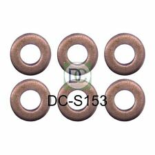 BMW 525 d (E39) Bosch Common Rail Diesel Injector Washers / Seals Pack of 6