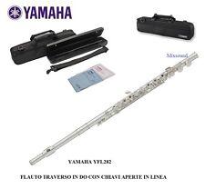 Flauto Traverso da Studio Argentato fori aperti in Linea Yamaha Yfl282/id