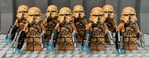 Star Wars - Custom Airborne Geonosis Clone Troopers - Compatible With le go