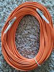 fiber optic cable connector, 10m LC-LC, multimode, orange