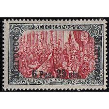 Deutsche Post in Marokko Nr. 19 II ungestempelt mit Fotobefund Jäschke-Lantelme