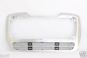 Fits 2003-2012 Freightliner M2 112 Front Grille Frame Black Chrome w/bug screen