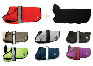 Danish Design Dog Coat The Ultimate 2 in 1 Jacket with Removable Fleece Lining