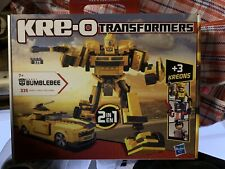 Hasbro ,Kre-o Transformers set 36421 Bumblebee, 7+,New Sealed Rare