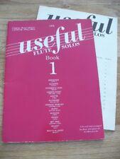 Useful Flute Solos Book 1 ed. Graham Lyons (Flute & Piano Sheet Music 1996)